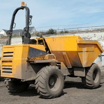 forward tipping dumper