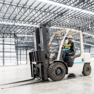 Industrial / Counterbalance Forklift -Test Only – Book now, schedule later